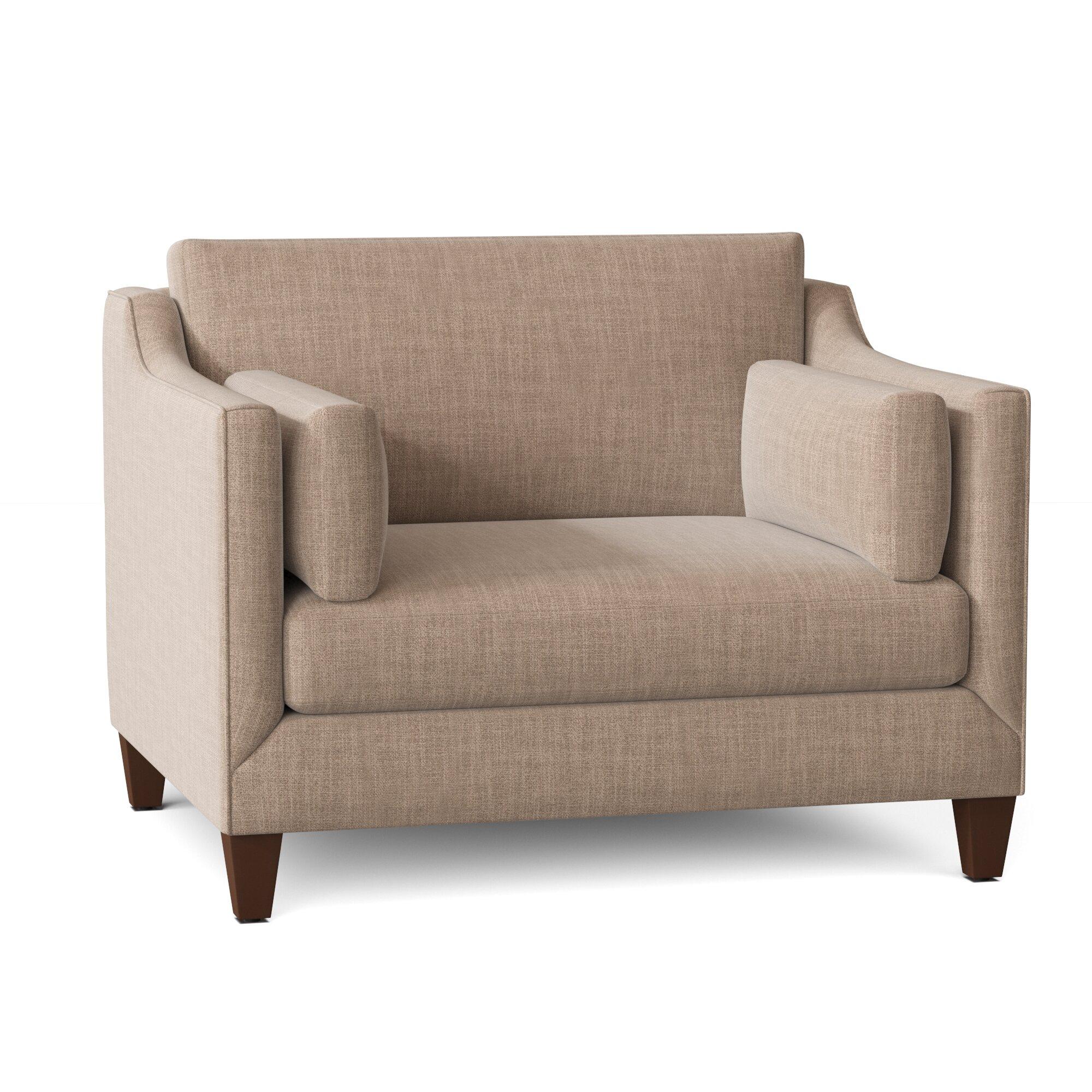 Wayfair Custom Upholstery Annette Armchair Reviews