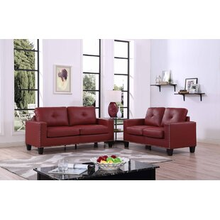 Payson 2 Piece Faux Leather Li..