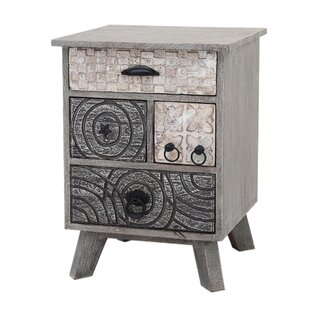 Clem Greyson Carving 4 Drawer Chest By Bloomsbury Market