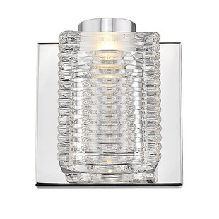 Orren Ellis Jovanni 1-Light LED Bath Sconce