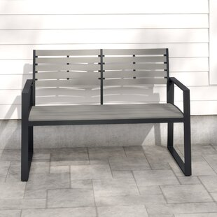 Kellam Aluminium Bench By Sol 72 Outdoor