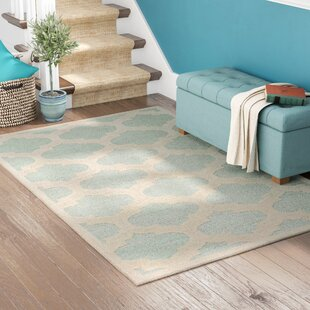 Boise Hand-Tufted Light Blue Area Rug by Andover Mills