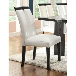 Best Reviews Dudek Upholstered Dining Chair (Set of 2) by Orren Ellis Reviews (2019) & Buyer's Guide