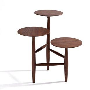 Corrigan Studio Aries Walnut End Table