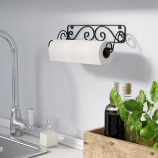 Wall-Mounted Paper Towel Holder by Fleur De Lis Living
