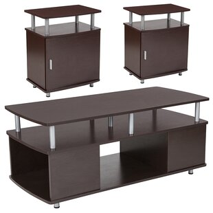 Ebern Designs Axton 3 Piece Coffee Table Set