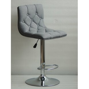 Ahart Adjustable Height Swivel Bar Stool ..