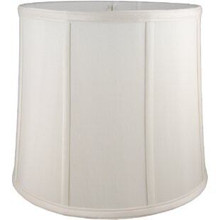 12 Faux Silk Drum Lamp Shade