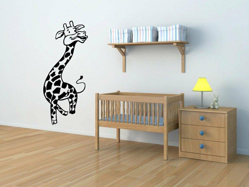 Innisbrook Goofy Giraffe Wall Decal