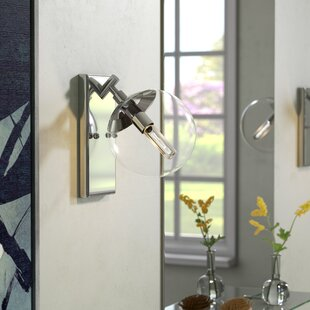 Deals By rd 1-Light Bath Sconce By Ivy Bronx