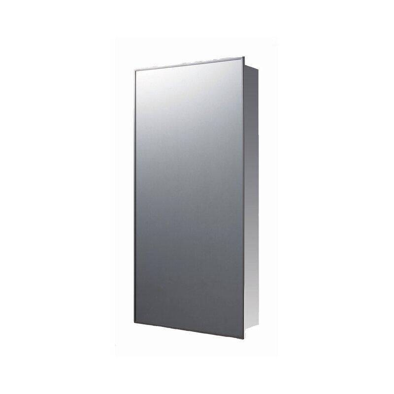 Crosby Framed Medicine Cabinet with 3 Adjustable Shelves