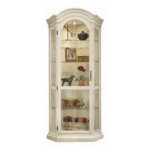 Philip Reinisch Co. ColorTime Panorama Corner Curio Cabinet