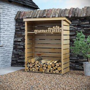 Superbe 4 Ft. X 2 Ft. Wooden Log Store