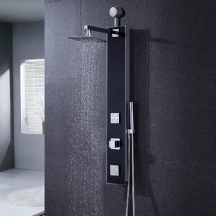 Luxier Diverter/Thermostatic Dual Shower Head Shower Panel