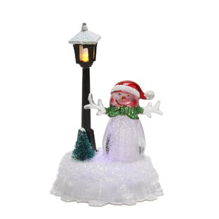 Snowman Lamp Post Cover Wayfair