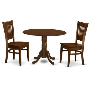 Aimee 3 Piece Dining Set August Grove