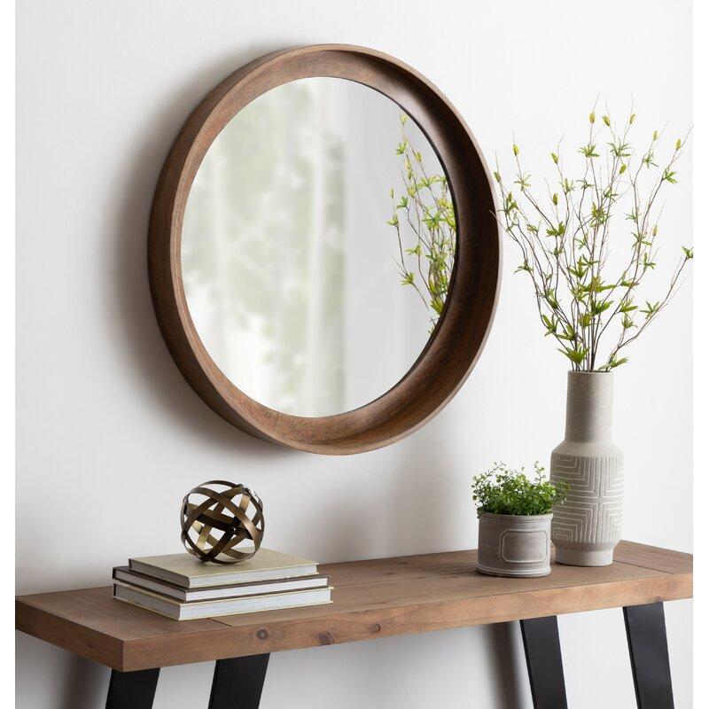 Foundstone Alea Elizabeth Rustic With Shelves Accent Mirror Reviews Wayfair