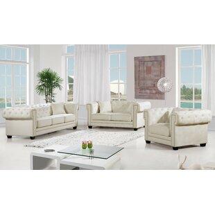 Willa Arlo Interiors Hilaire Configurable Living Room Set
