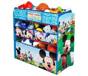 Comparison Disney Mickey Mouse Toy Organizer ByDelta Children