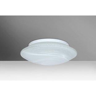 Besa Lighting Sola 2-Light LED Outdoor Flush Mount