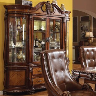 Wendel Lighted China Cabinet by Astoria Grand