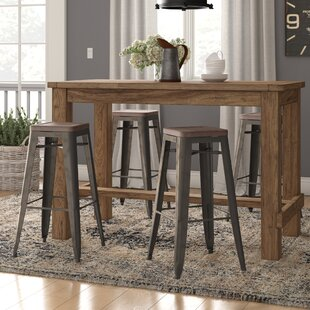 Isaac 30 Bar Stool (Set Of 4) by Laurel Foundry Modern Farmhouse Reviews