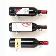 VintageView Vino Pins 3 Bottle Wall Mounted Wine Bottle Rack