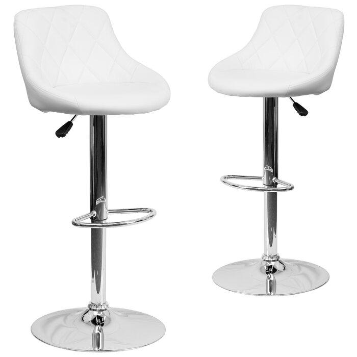Awe Inspiring Occoquan Adjustable Height Swivel Bar Stool Inzonedesignstudio Interior Chair Design Inzonedesignstudiocom