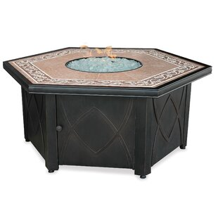 Steel Propane Fire Pit Table by Uniflame Corporation Today Sale Only