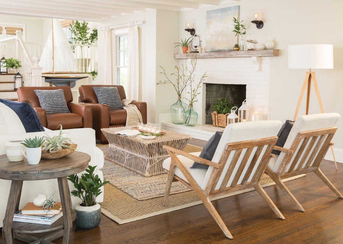 Birch Lane™ Recycled Glass Table Vase & Reviews   Birch Lane