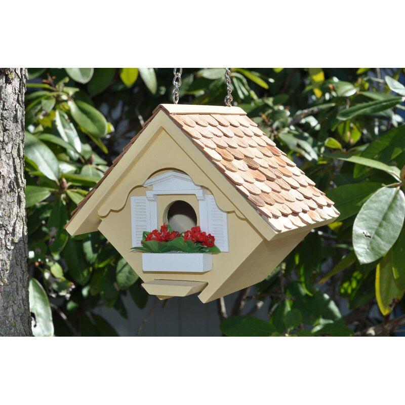 Home Bazaar Little Wren 8 In X 6 In X 7 In Birdhouse Wayfair