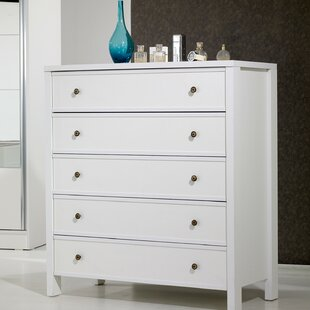 Lopes 5 Drawer Chest By August Grove