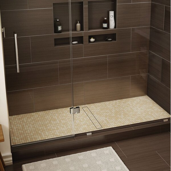 60 X 36 Shower Base   Wayfair