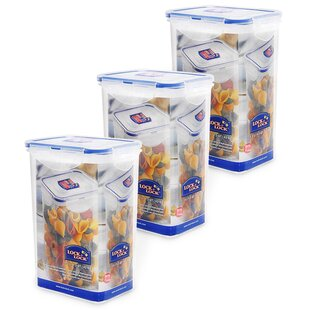 Rectangular 43.96 Oz. Food Storage Container (Set of 3)