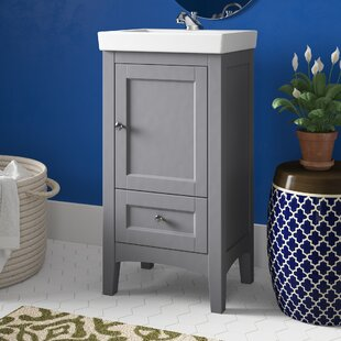 Triplett 17.5 Single Bathroom Vanity Set by Charlton Home