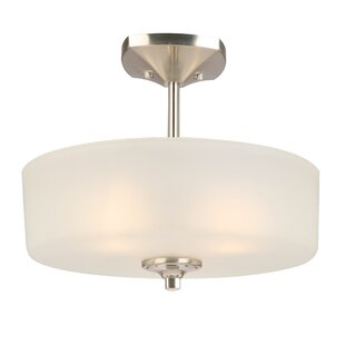 Perth 3-Light Semi Flush Mount..