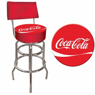 Coca Cola 31 Swivel Bar Stool