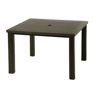 Sebrina Metal Dining Table by Latitude Run