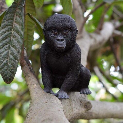 Hi Line Gift Ltd Baby Gorilla Statue Amp Reviews Wayfair