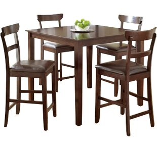 Cotswold 5 Piece Counter Height Dining Set Red Barrel Studio