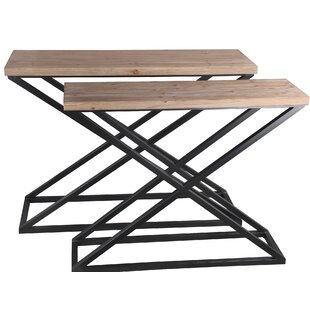 Mcmurray 2 Piece Console Table Set