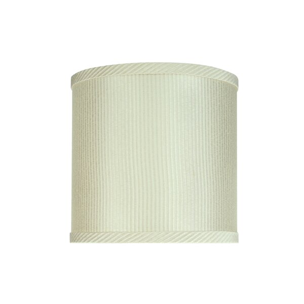 Aspen Creative Corporation 8 H Cotton Drum Lamp Shade Spider In Off White Wayfair