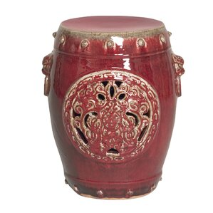 Dragon Medallion Garden Stool  sc 1 st  Wayfair & Red Garden Stools Youu0027ll Love | Wayfair islam-shia.org