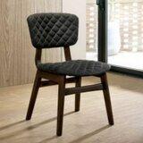 Ayanna Linen Side Chair in Brown (Set of 2) by Corrigan Studio®