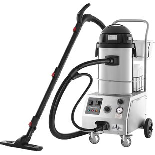 Tandem Pro Commercial Steam & Vacuum Cleaner with Auto Refill & Accessory Kit By Reliable Corporation