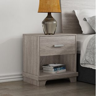 Reviews Avalos 1 Drawer Nightstand by Trule Teen