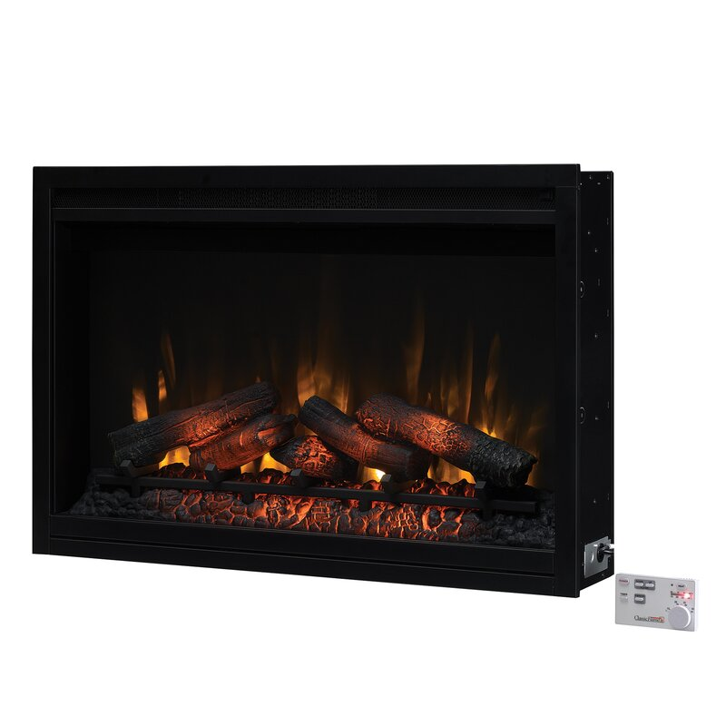 Winston Porter Banning Traditional Electric Fireplace Insert