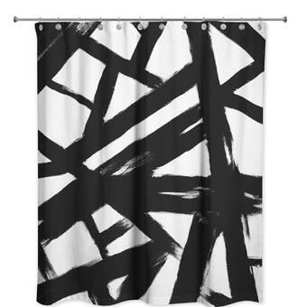 East Urban Home PI Creative Art Zulu Gold Iii Single Shower Curtain