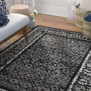 Budget Norwell Black/Silver Area Rug By Mistana