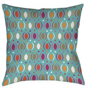 Banias Oval Printed Throw Pillow